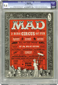Magazines:Mad, Mad #29 (EC, 1956) CGC NM+ 9.6 Off-white to white pages. Q Twotitans of Mad had their premieres here. Don Martin contri...