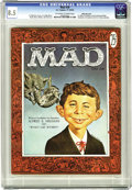 Magazines:Mad, Mad #30 White Mountain pedigree (EC, 1956) CGC VF+ 8.5 Off-white towhite pages. While this wasn't the first appearance of A...