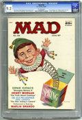 Magazines:Mad, Mad #33 (EC, 1957) CGC NM- 9.2 Off-white pages. Norman Mingo cover. Joe Orlando, Don Martin, George Woodbridge, Bob Clarke, ...