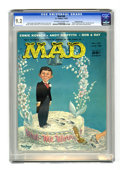 Magazines:Mad, Mad #40 Gaines File pedigree (EC, 1958) CGC NM- 9.2 Off-white to white pages. Kelly Freas cover. Interior art by Freas, Wall...