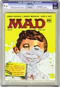 Magazines:Mad, Mad #41 Gaines File pedigree (EC, 1958) CGC NM+ 9.6 Off-white to white pages. The Usual Gang of Idiots was joined by an impr...