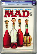 Magazines:Mad, Mad #42 Gaines File pedigree (EC, 1958) CGC NM/MT 9.8 White pages.What separates this immaculate copy from perfection? Only...