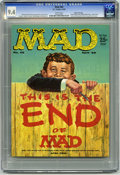 Magazines:Mad, Mad #46 Gaines File pedigree (EC, 1959) CGC NM 9.4 White pages.Upside-down issue. Kelly Freas cover. Mort Drucker, Don Mart...