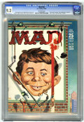 """Magazines:Mad, Mad #50 (EC, 1959) CGC NM- 9.2 Off-white pages. """"Peter Gunn""""parody. Kelly Freas cover. Mort Drucker, Don Martin, Wally Wood..."""