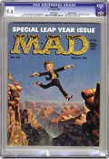 Magazines:Mad, Mad #53 Gaines File pedigree (EC, 1960) CGC NM 9.4 White pages.Kelly Freas painted this issue's front and back covers, and ...