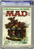 Magazines:Mad, Mad #55 Gaines File pedigree (EC, 1960) CGC NM/MT 9.8 Off-white towhite pages. You'd be cuckoo not to like this Frank Kelly...
