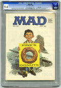 Magazines:Mad, Mad #90 Pacific Coast pedigree (EC, 1964) CGC NM 9.4 Cream tooff-white pages. Norman Mingo cover. Ringo Starr portrait by F...
