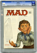 Magazines:Mad, Mad #93 Pacific Coast pedigree (EC, 1965) CGC NM+ 9.6 Off-white to white pages. Norman Mingo cover. Dave Berg, Mort Drucker,...