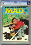 Magazines:Mad, Mad #96 Pacific Coast pedigree (EC, 1965) CGC NM/MT 9.8 Off-whiteto white pages. This is the sole 9.8 CGC has certified as ...