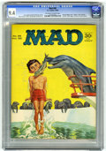 Magazines:Mad, Mad #98 (EC, 1965) CGC NM 9.4 Off-white to white pages. Norman Mingo cover. Dave Berg, Mort Drucker, Al Jaffee, George Woodb...