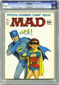 Magazines:Mad, Mad #105 (EC, 1966) CGC NM+ 9.6 Off-white to white pages. This is the most sought-after of the Mad issues numbered #100-...