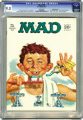 Magazines:Mad, Mad #109 Gaines File pedigree (EC, 1967) CGC NM/MT 9.8 White pages.Four out of five nudnicks recommend this dental-hygiene ...
