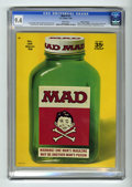 """Magazines:Mad, Mad #125 Gaines File pedigree (EC, 1969) CGC NM 9.4 White pages. This issue features a """"2001: A Space Odyssey"""" movie spoof, ..."""