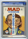 "Magazines:Mad, Mad #129 Gaines File pedigree (EC, 1969) CGC NM 9.4 White pages. Norman Mingo cover. ""Julia"" TV parody. Don Martin, Mort Dru..."