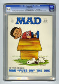 Magazines:Mad, Mad #138 Gaines File pedigree (EC, 1970) CGC NM+ 9.6 Off-white towhite pages. Jack Rickard Peanuts cover. Overstreet 20...