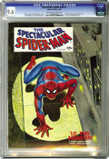 Magazines:Superhero, Spectacular Spider-Man #1 (Marvel, 1968) CGC NM+ 9.6 Off-white towhite pages. Here's an amazingly nice copy of one far-out ...