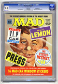Magazines:Mad, Worst From Mad #11 Gaines File pedigree (EC, 1968) CGC NM 9.4 Whitepages. Includes 16 car window stickers. Overstreet 2006 ...