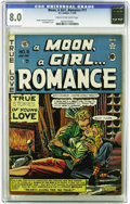 Golden Age (1938-1955):Romance, A Moon, A Girl... Romance #11 (EC, 1950) CGC VF 8.0 Cream tooff-white pages. Every EC fan knows about this Pre-Trendti...