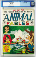 Golden Age (1938-1955):Funny Animal, Animal Fables #1 (EC, 1946) CGC VF+ 8.5 Cream to off-white pages.As there are no Gaines File copies of this somewhat redund...