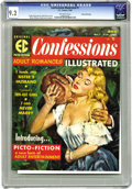 Magazines:Romance, Confessions Illustrated #1 Gaines File pedigree 9/12 (EC, 1956) CGC NM- 9.2 Off-white pages. This Bud Parke cover shows EC w...