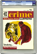 Magazines:Crime, Crime Illustrated #2 Gaines File pedigree 9/12 (EC, 1956) CGC NM+9.6 Off-white to white pages. This Picto-Fiction book only...