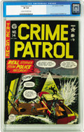 Golden Age (1938-1955):Crime, Crime Patrol #14 (EC, 1949) CGC VF 8.0 Cream to off-white pages. This is just the second time we've seen this Pre-Trend issu...