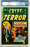 Golden Age (1938-1955):Horror, Crypt of Terror #17 Gaines File pedigree 2/10 (EC, 1950) CGC NM+9.6 Off-white to white pages. This book is currently sixth ...