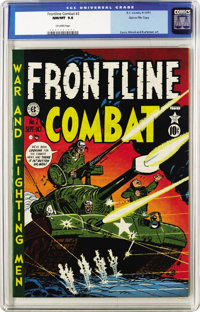 Frontline Combat #2 Gaines File pedigree (EC, 1951) CGC NM/MT 9.8 Off-white pages. The formula for this title was simple...