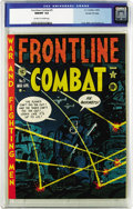 Golden Age (1938-1955):War, Frontline Combat #5 Gaines File pedigree (EC, 1952) CGC NM/MT 9.8 Off-white to white pages. Harvey Kurtzman's cover is one o...