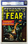 Golden Age (1938-1955):Horror, Haunt of Fear #15 (#1) Gaines File pedigree 3/11 (EC, 1950) CGC NM+9.6 Off-white to white pages. One month after EC's first...