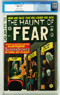 Golden Age (1938-1955):Horror, Haunt of Fear #17 (#3) Gaines File pedigree 2/7 (EC, 1950) CGC NM+9.6 Off-white to white pages. The origins of the Crypt of...