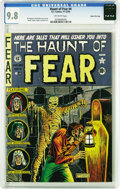 Golden Age (1938-1955):Horror, Haunt of Fear #4 Gaines File pedigree 3/9 (EC, 1950) CGC NM/MT 9.8Off-white pages. One of just two Gaines File Copies of th...