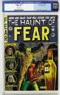 Golden Age (1938-1955):Horror, Haunt of Fear #4 Gaines File pedigree (EC, 1950) CGC NM+ 9.6Off-white pages. This significant issue begins with a cover by ...