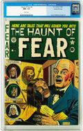 """Golden Age (1938-1955):Horror, Haunt of Fear #8 Gaines File pedigree 2/12 (EC, 1951) CGC NM+ 9.6White pages. Overstreet calls this Al Feldstein effort a """"..."""