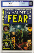 "Golden Age (1938-1955):Horror, Haunt of Fear #12 Gaines File pedigree (EC, 1952) CGC NM- 9.2Off-white pages. Overstreet calls this Graham Ingels cover ""cl..."