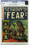 Golden Age (1938-1955):Horror, Haunt of Fear #14 Gaines File pedigree 4/12 (EC, 1952) CGC NM 9.4Off-white to white pages. Another classic Graham Ingels co...
