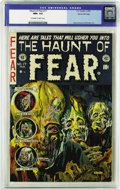 Golden Age (1938-1955):Horror, Haunt of Fear #17 Gaines File pedigree (EC, 1953) CGC NM+ 9.6Off-white to white pages. Is there a better EC cover than this...