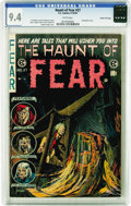 Golden Age (1938-1955):Horror, Haunt of Fear #27 Gaines File pedigree 3/12 (EC, 1954) CGC NM 9.4White pages. Just the second time we've offered a Gaines F...