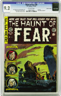 Golden Age (1938-1955):Horror, Haunt of Fear #28 Gaines File pedigree (EC, 1954) CGC NM- 9.2Off-white pages. Fabulous high-grade copy of the last issue of...