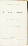 Books:Literature 1900-up, [First Edition Bound from the Parts]. Charles Dickens. ThePersonal History of David Copperfield. London: Bradbury&...