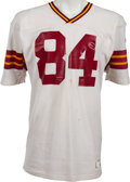 Football Collectibles:Uniforms, Circa 1976-77 Jean Fugett Game Worn Washington Redskins Jersey, MEARS A10....