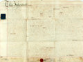 """Miscellaneous:Ephemera, Indenture in the Reign of King George III. One vellum page, 27"""" x20.75"""", Great Britain, September 29, 1812, acknowledging t..."""