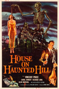 "Movie Posters:Horror, House on Haunted Hill (Allied Artists, 1959). Poster (40"" X 60"")....."