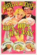 "Movie Posters:Comedy, Hips, Hips, Hooray (RKO, 1934). One Sheet (27.5"" X 41"").. ..."