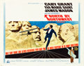 "Movie Posters:Hitchcock, North by Northwest (MGM, R-1966). Half Sheet (22"" X 28"").. ..."