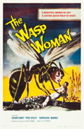 "Movie Posters:Science Fiction, The Wasp Woman (Film Group, 1959). One Sheet (27"" X 41.5"").. ..."