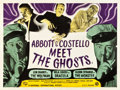 "Movie Posters:Horror, Abbott and Costello Meet Frankenstein (Universal International,1948). British Quad (30"" X 40""). UK title: Abbott &Costel..."