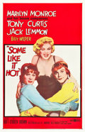 "Movie Posters:Comedy, Some Like It Hot (United Artists, 1959). One Sheet (27"" X 41.5"")....."