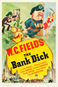 """Movie Posters:Comedy, The Bank Dick (Universal, 1940). One Sheet (27.5"""" X 41"""") Style D.. ..."""