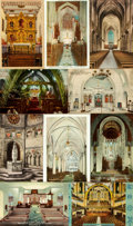 Miscellaneous:Postcards, [Postcards]. Group of Twenty-Nine with Religious Themes. Some used.Very good. From the collection of Judith Adelman. ...
